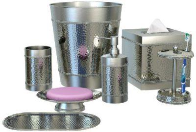 nu steel HS-7PC/SET Hudson Elegant Decoration Collection Bathroom Accessories