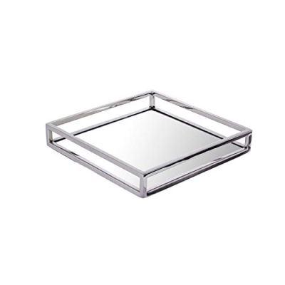 Pizzaz Beautiful Rectangular,Vanity Mirror Tray