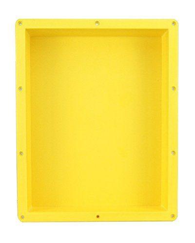 Shower Niche Shelf Organizer Tray - Durable ABS, Waterproof & Leakproof