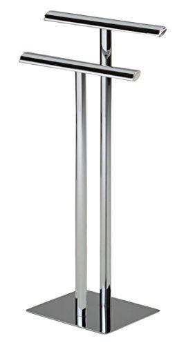 Kings Brand Furniture - Metal Modern Free-Standing Towel Rack Stand