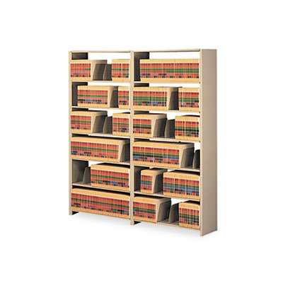 Tennsco 48 by 12 by 88-Inch Snap-Together Open Shelving Steel