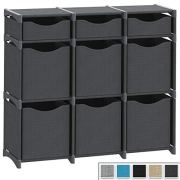 9 Cube Organizer | Set of Storage Cubes Included | DIY Closet Organizer Bins