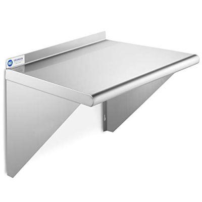 GRIDMANN NSF Stainless Steel Kitchen Wall Mount Shelf Commercial