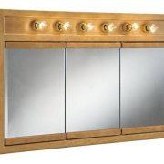 "Design House Mirrors/Medicine Cabinets, 48"", Nutmeg Oak"