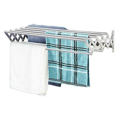 X-cosrack Folding Clothes Drying Rack Wall Mount