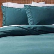 Opalhouse Border Garment-Washed Embroidered Tribal Aztec Duvet Cover