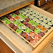 Coffee Pod Storage Organizer Insert for Drawer Holds