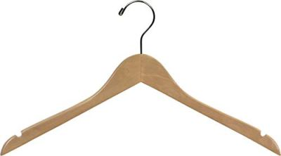 The Great American Hanger Company Wood Top Hanger