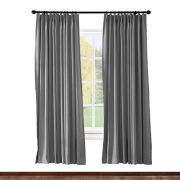 ChadMade Pinch Pleated Curtain Solid Thermal Insulated Blackout Extra