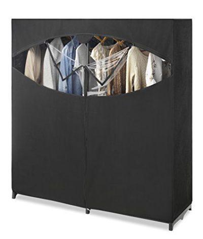 Whitmor Portable Wardrobe Clothes Storage Organizer Closet