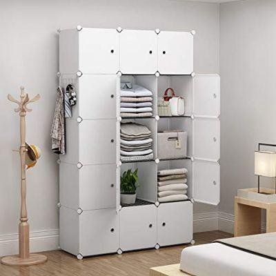 YOZO Modular Closet Portable Wardrobe Dresser Teens Kids Chest