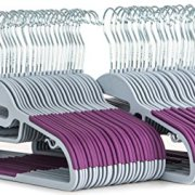 Popular Design Products 50 pc Premium Quality Easy-On Clothes Hangers