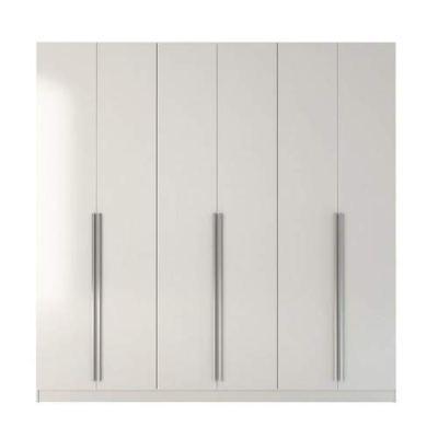 Manhattan Comfort Eldrige Collection 6 Door Freestanding Wardrobe Closet