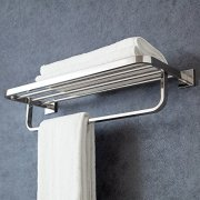 XiangYi Bath Towel Rack with Towel Bar 24-Inch SUS Stainless Steel