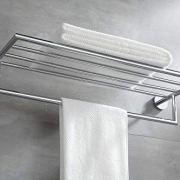 BUVELOT Leo Brass Towel Rack Bathroom Towel Shelf