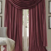 Elrene Home Fashions Window Curtain Drape Rod Pocket Panel