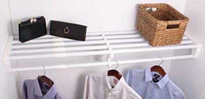 EZ SHELF Expandable Closet Shelf & Rod with No Brackets