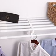 EZ SHELF Expandable Closet Shelf & Rod with No Brackets