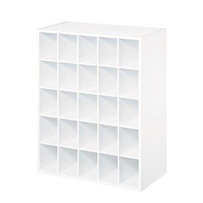 25-Cube Organizer, White