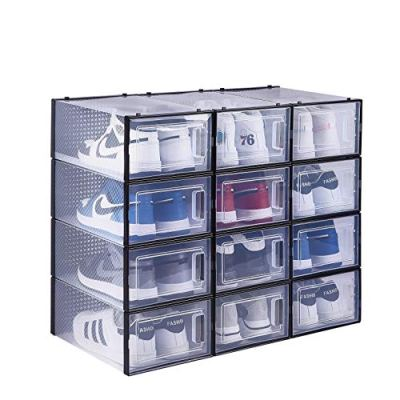 East Loft Clear Shoe Box Storage Containers for Hallway