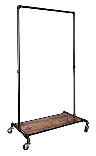 REAL HOME Innovations Real Home Modern Industrial Style Garment Rack