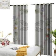 Light Luxury high-end Curtains Dragonfly Vintage Retro Farm Life