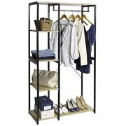 Seville Classics 5-Tier Freestanding Metal Garment Rack