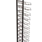 12 Tier Black Cap Rack