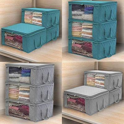 Etuoji Home Foldable Zipper Storage Bags Clothes Bedding Pillows Quilt