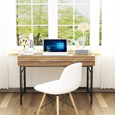 """Computer Desk with Drawer 47"""" Executive Desk Writing Office Desk"""