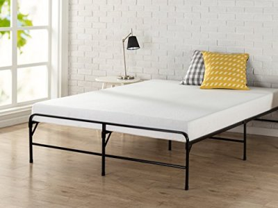 Zinus 14 Inch Bifold Platform Bed Frame/Folding Mattress Foundation/Strong Steel