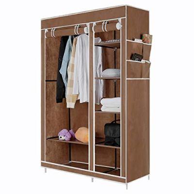 DazHom Closet Organizer Wardrobe Portable Clothes Closet Shelves