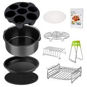 Air Fryer Accessories Set for 3.7, 5.3, 5.5, 5.8 QT,8 pieces for Gowise Phillips