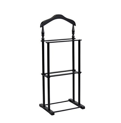 """Proman Products Twin Valet, 42.5"""" Height, Black"""""""