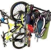 StoreYourBoard Ski, Bike, and Camping Wall Storage Rack | Ski Wall Mount Home