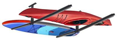 YUANSHI Ski & Snowboard Ceiling Storage Rack - Double SUP & Surf Ceiling