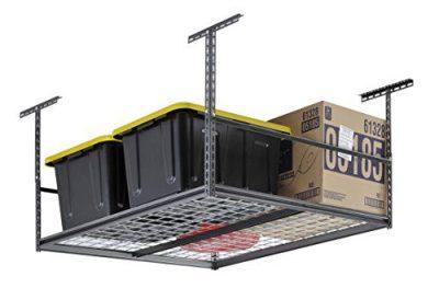 "Muscle Rack 48""W x 48""D Overhead Garage Adjustable Ceiling Storage Rack"