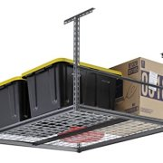 "Muscle Rack 48""W x 48""D Overhead Garage Adjustable Ceiling Storage Rack"