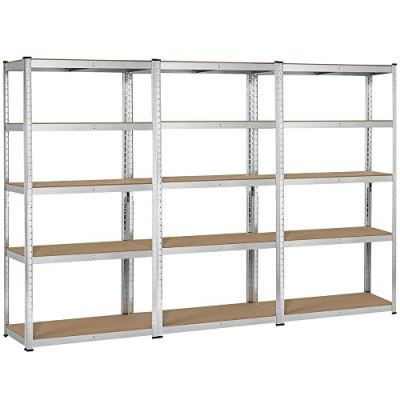 Topeakmart 5 Tier Storage Rack Heavy Duty Adjustable Garage Shelf Steel