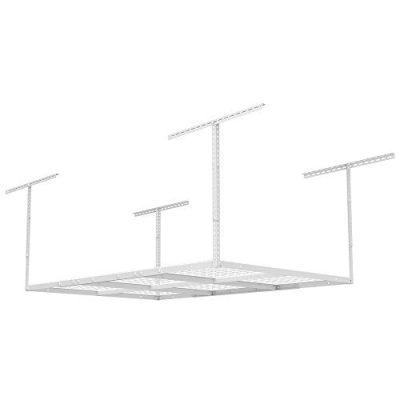 FLEXIMOUNTS Storage Rack, 4 x 6 ft, White