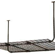 Suncast Wire Ceiling Storage Basket - Hanging Ceiling Storage Mounts