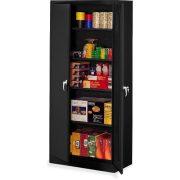 Tennsco Heavy Gauge Steel Deluxe Welded Storage Cabinet, 5 Shelves