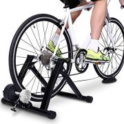 Bike Trainer Stand | Exercise Magnetic Stand with Noise Reduction Wheel