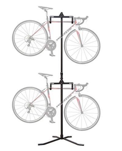 CyclingDeal 2 Bike Bicycle Vertical Hanger Parking Rack Gravity Floor Storage Stand