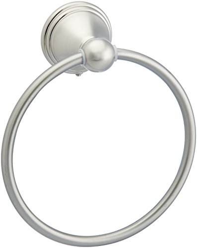 AmazonBasics AB-BR807-SN Towel Ring, Satin Nickel