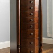 Hives and Honey Elizabeth Jewelry Armoire, Walnut