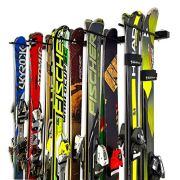 StoreYourBoard Omni Ski and Snowboard Wall Storage Rack | Holds 10 Pairs