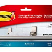 """Command by 3M 9"""" Towel Bar, Stylish Design, Easy On, Easy Off"""