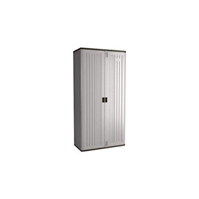 Suncast Mega Tall Storage Cabinet - Resin Construction for Garage Storage