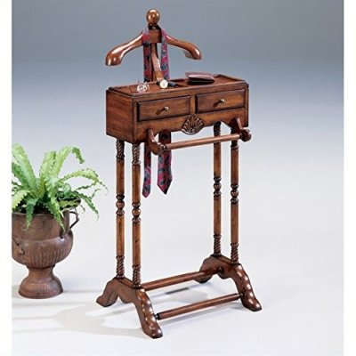 Butler Plantation Cherry Valet with Two Drawers